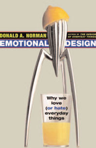 Porta del libro de Donald Norman Emotional Design